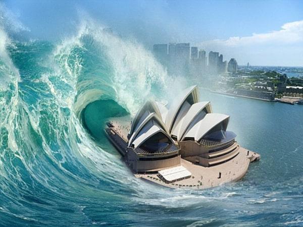 Nằm mơ thấy sóng thần nhấn chìm mọi thứ đánh con gì?